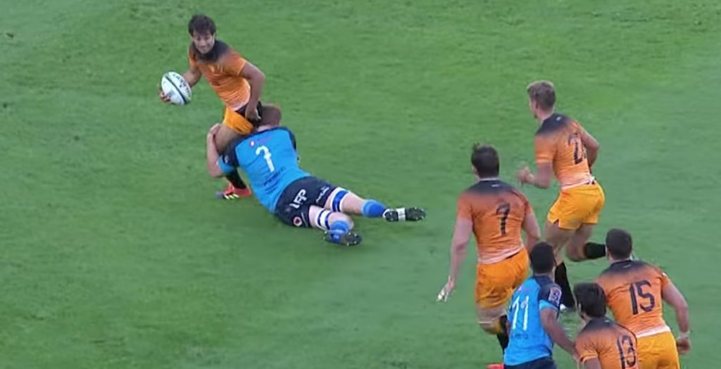 WATCH: Jaguares score STUNNING match-winning try