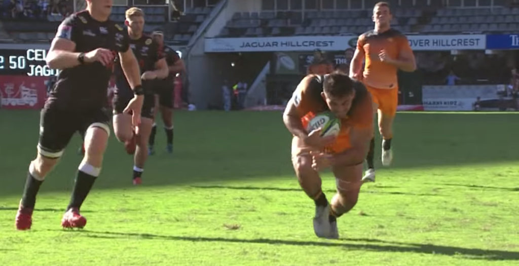 Jaguares forward scores remarkable 70-metre wonder try