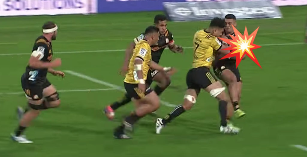 Superhuman Savea inspires EPIC Hurricanes try in thrilling game