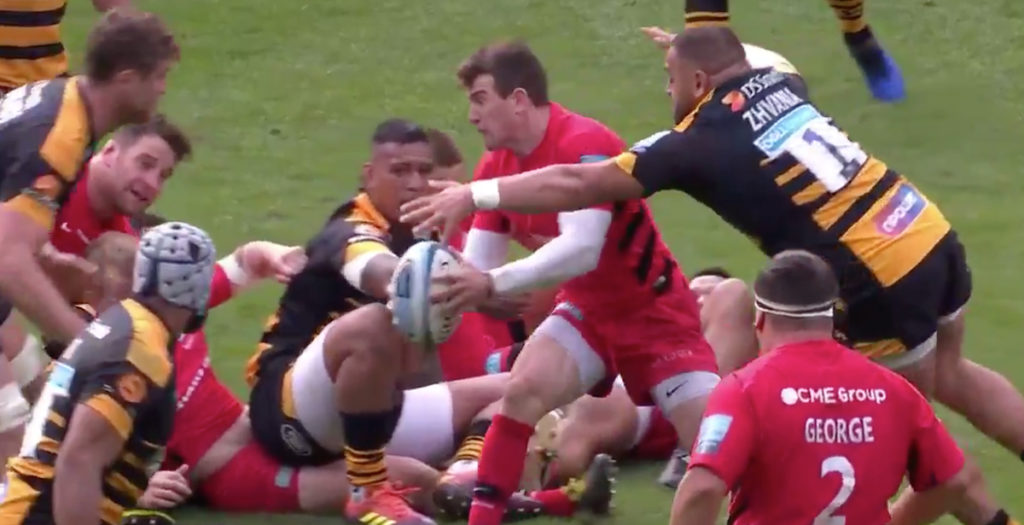 Ben Spencer shows real class to unleash Skelton for breakaway try