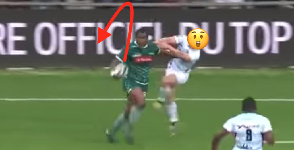Pau winger shows-off Fijian flair in crazy team try to sink Racing 92