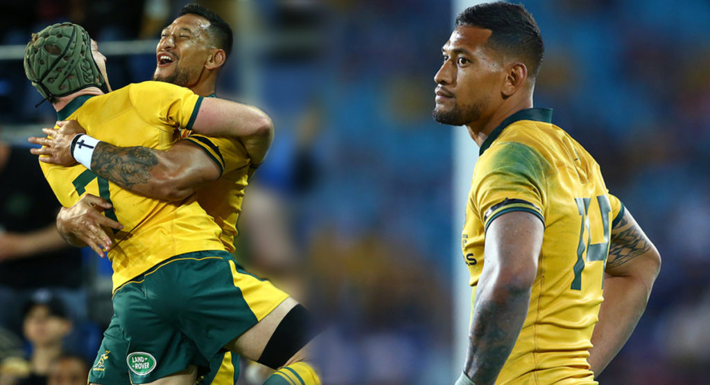 Huge backlash on Israel Folau comments as fans anxiously wait for Rugby Australia to take action