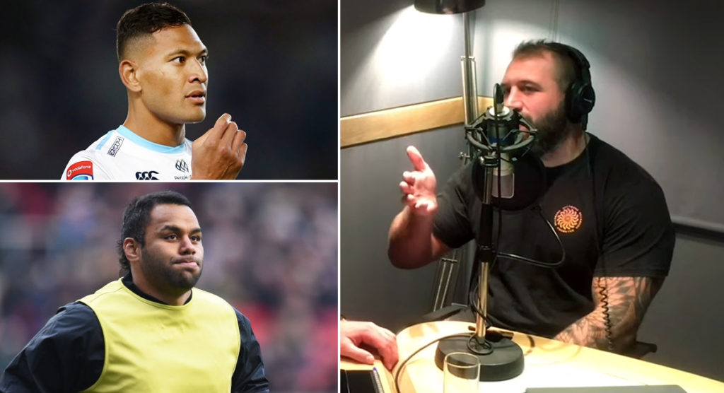 Joe Marler reflects on his Israel Folau response that