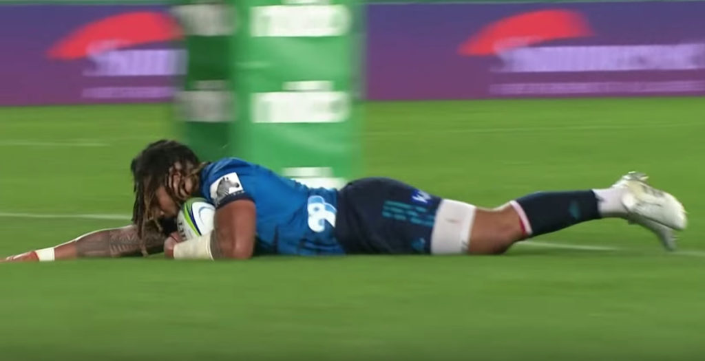 Nonu shines for Blues with near-perfect performance