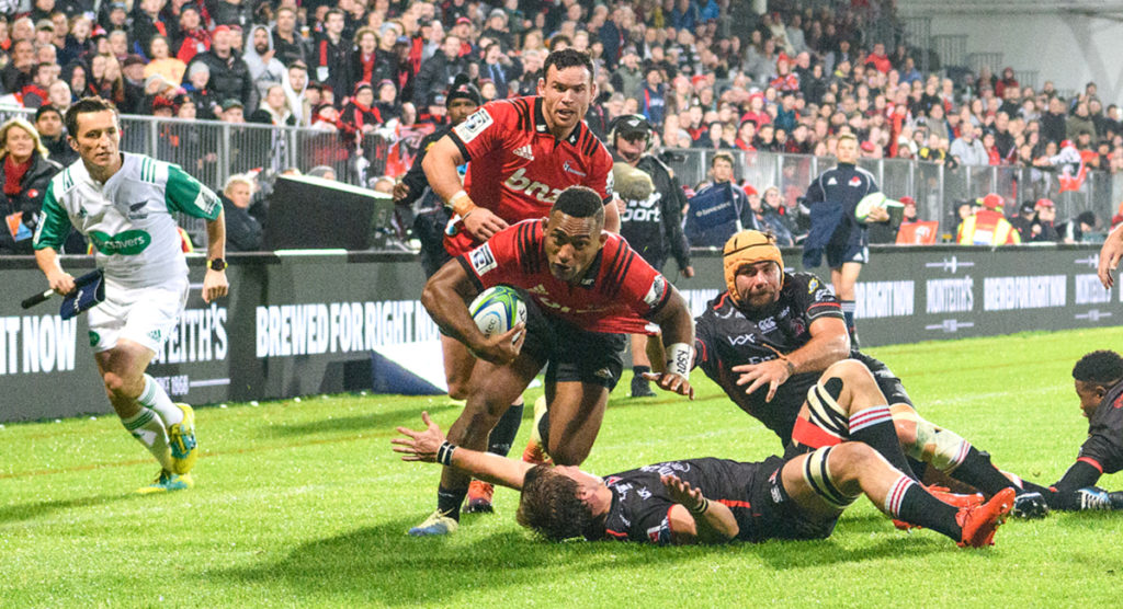 Sevu Reece sends Kwagga Smith into orbit as young winger plays huge role in Crusaders win