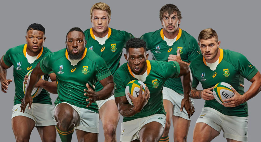 New Springboks Rugby World Cup 2019 jersey launched and it's called 'UNSTOPPABLE'