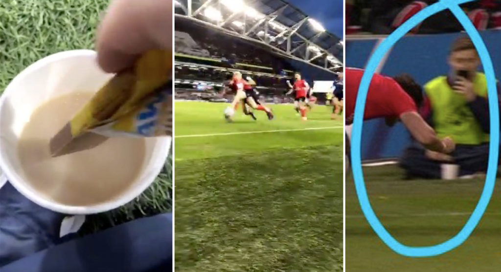 WATCH: Bizarre new footage of Jacob Stockdale drop goes viral