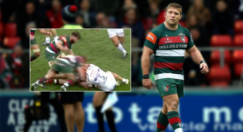 Some called ruck clearout red card harsh but now Tom Youngs has also been suspended