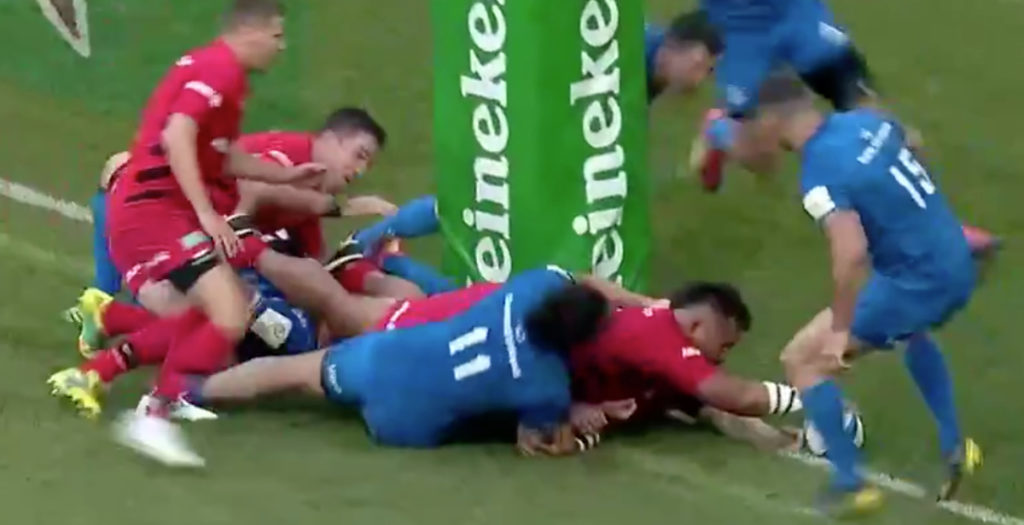 Vunipola scores brutal try to win Champions Cup for Saracens