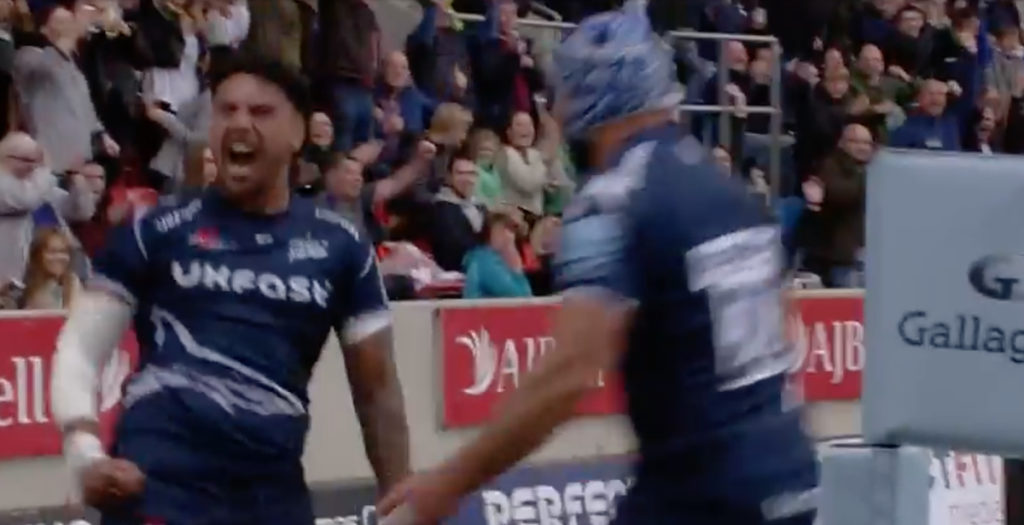 Dramatic Solomona score seals EPIC win for Sale in 13-try game