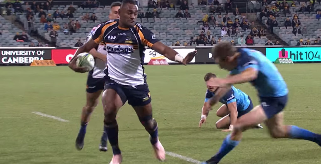 Kurindrani hat trick seals Brumbies win over the Bulls