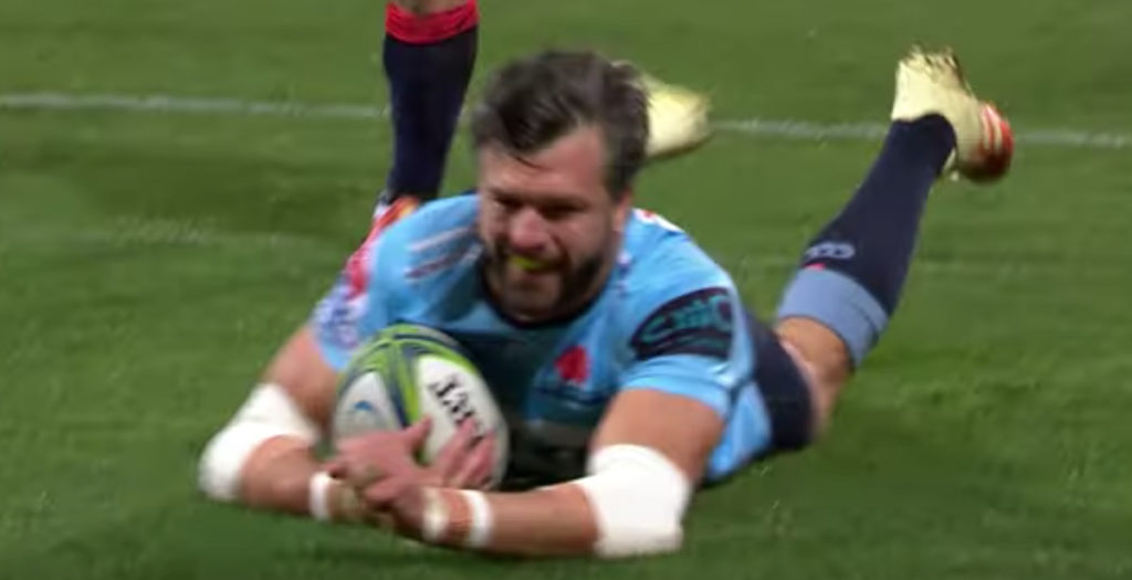Adam Ashley-Cooper takes credit for wonderful 60-metre Tahs try
