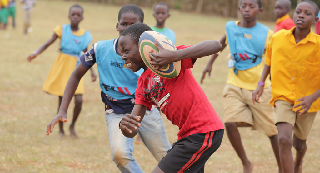 Change lives through coaching Rugby in beautiful Africa