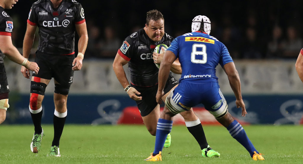 Hard running Springbok prop Oosthuizen yet another giant signing for Sale Sharks
