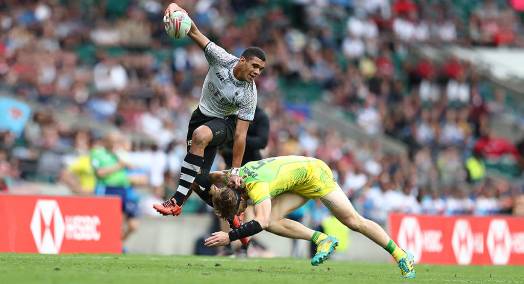 Table topping Fiji fly past Australia to retain London 7s title