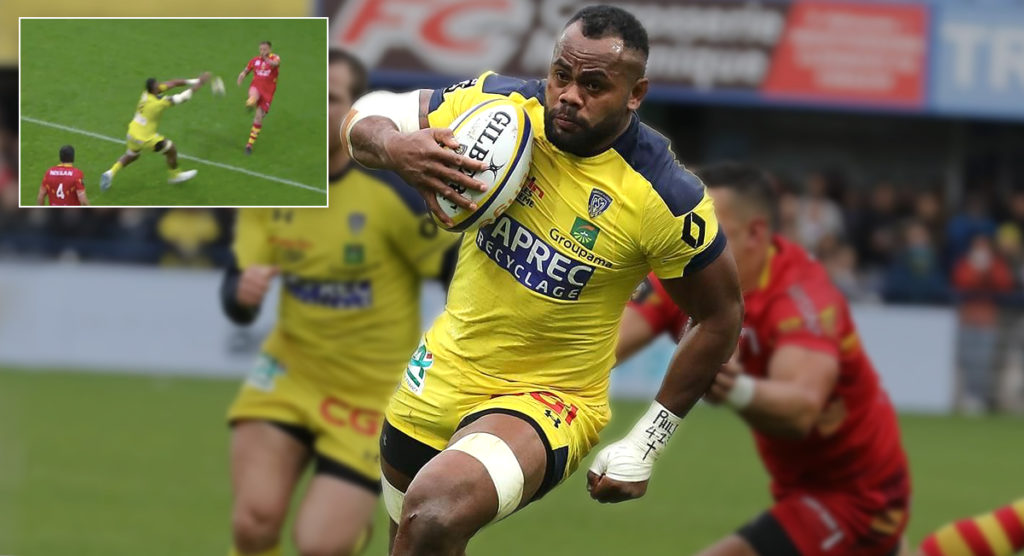 Sensational sportsmanship on display from Fijian Peceli Yato against Perpignan