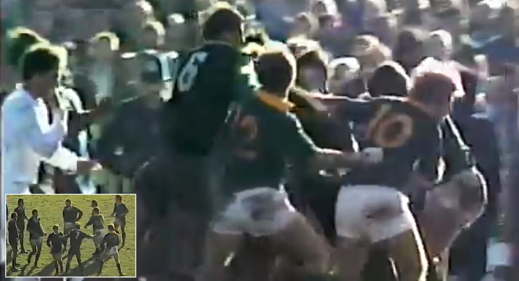 Throwback Thursday: New Zealand and South Africa don't hold back in 1981 Christchurch brawls