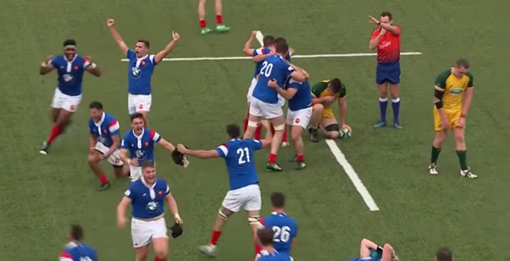 France claim back-to-back U20 Championship titles with tight win over Australia
