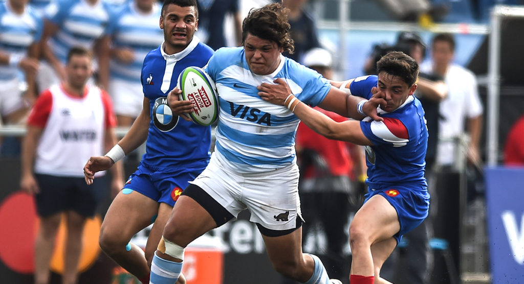 Argentina U20 prop thrills local fans with 62 metre wonder try