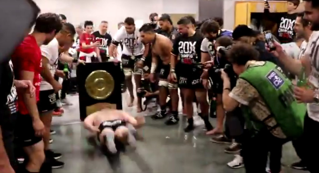 Toulouse's bizarre changing room celebration after first Top 14 title since 2012