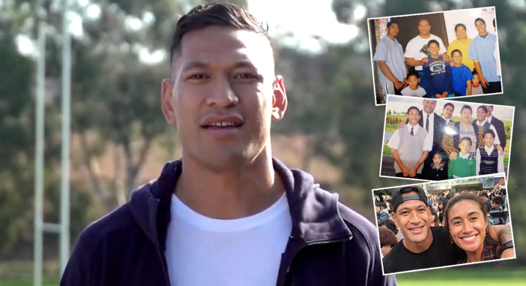Israel Folau launches fundraising video, GoFundMe page with $3 million target
