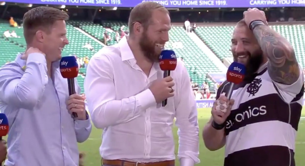 Joe Marler says being a part of the Barbarians was the most fun week of his career