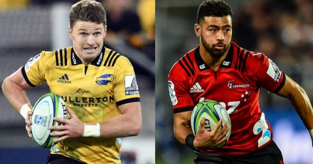 It's Barrett vs Mo'unga as fans are poised for mouth watering battle of the 10s in Super Rugby knock out