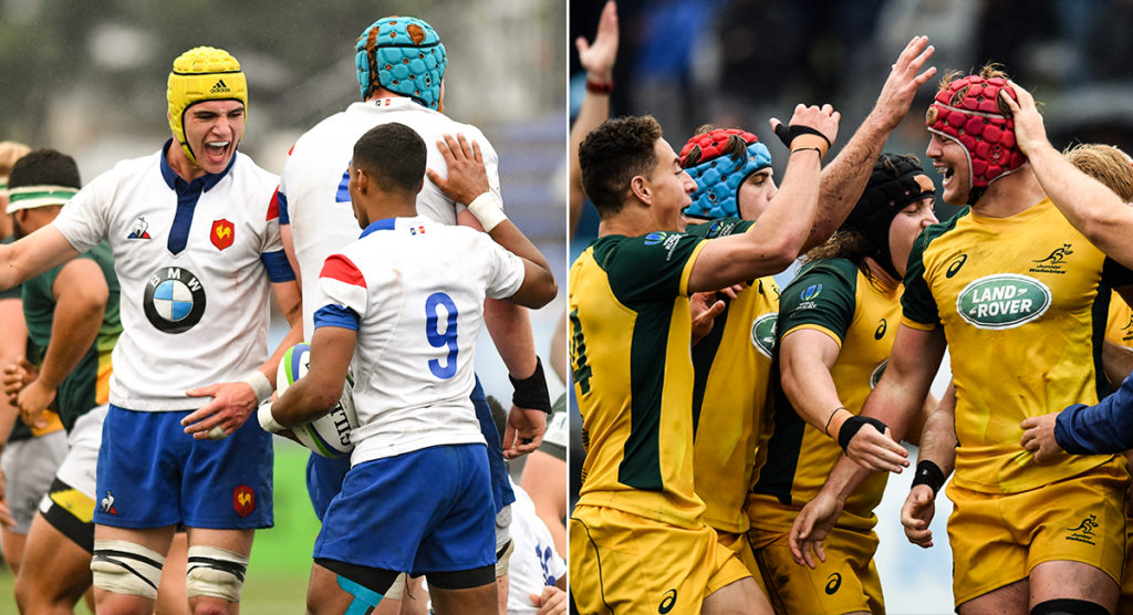 The Top 5 Tries from day four as Australia get set for France in U20 Championship final