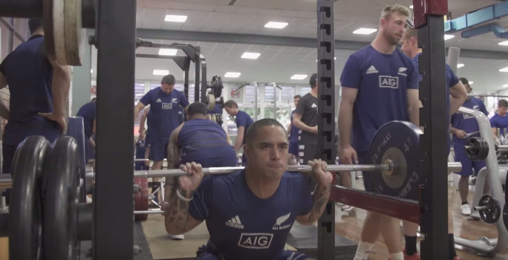 WATCH: All Blacks pump iron in Buenos Aires