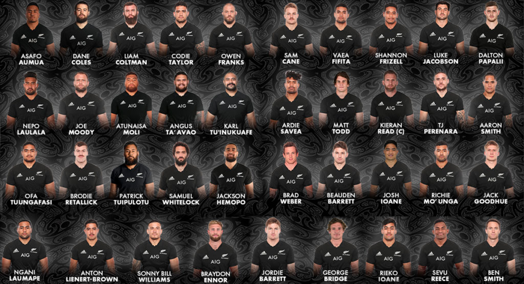 Four new caps and some stars left out as extended All Blacks squad is named for Rugby Championship