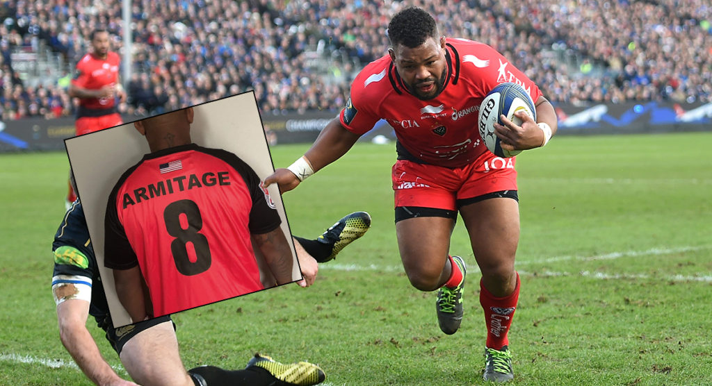 Steffon Armitage excited to be back in red and black as he heads to the USA's Major League Rugby