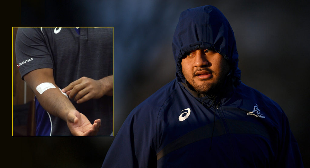 Wallabies prop mugged in front of teammates in South Africa
