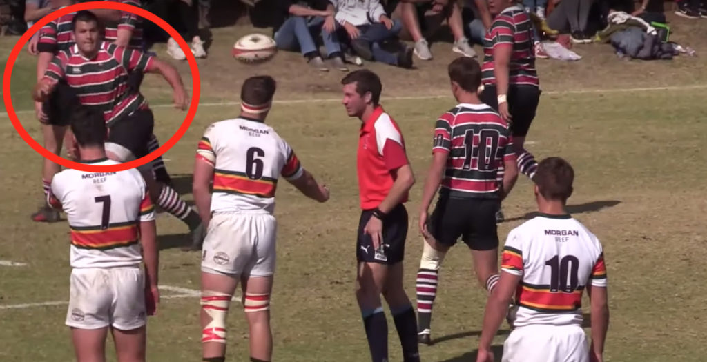 WATCH: Pretoria school boys score genius try against rivals