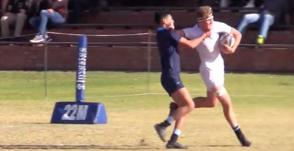 WATCH: South African student forward scores incredible solo try