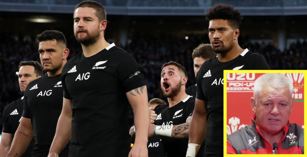 Gatland ready for jokes over world rugby ranking