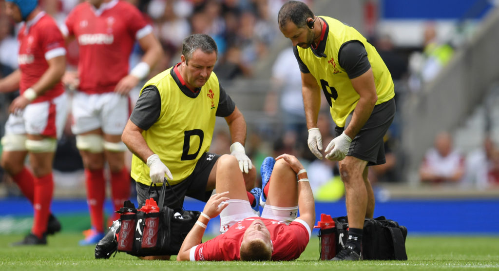 Wales first choice 10 struck by injury raises questions about RWC warm up games
