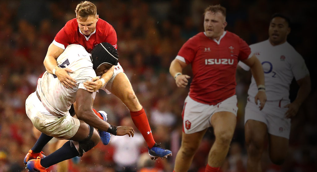 The Dan Biggar tackle on Maro Itoje that miraculously escaped punishment