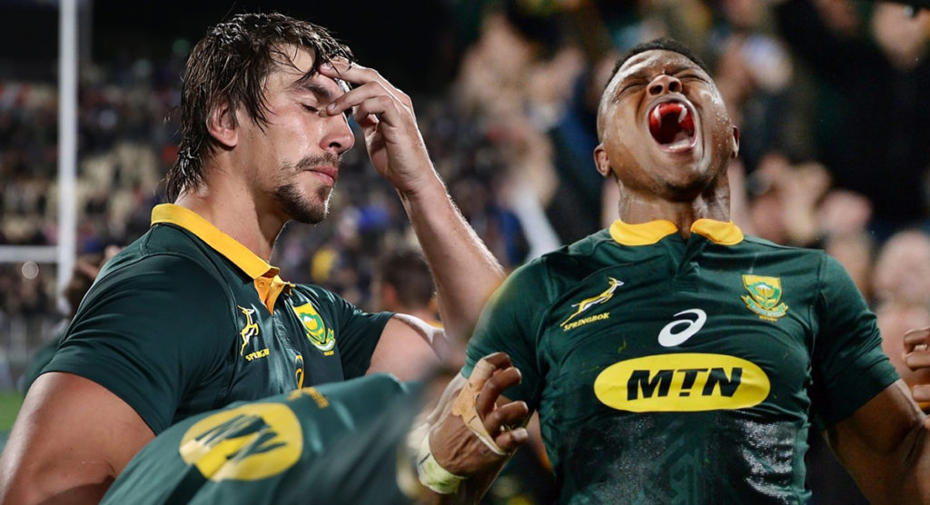 Springboks shaken by double-dose of unsettling accusations