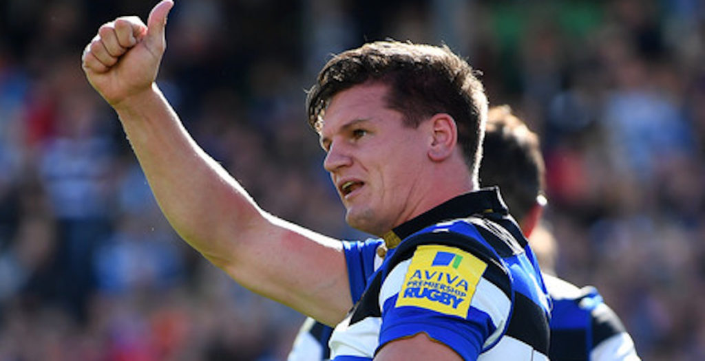 Freddie Burns throws killer pass to set up try against Worcester