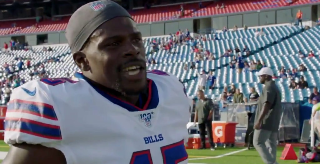 Christian Wade dropped from 2019 Buffalo Bills roster