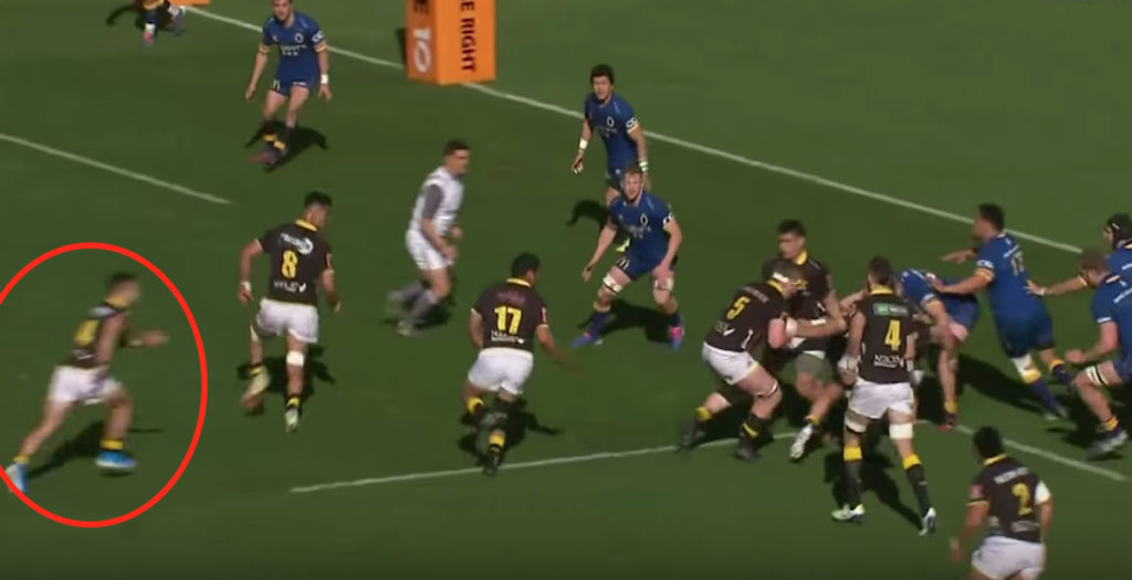 Wellington score perfect lineout move in Mitre 10 Cup
