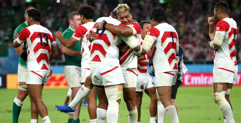 WATCH: Highlights of iconic Japanese victory over Ireland