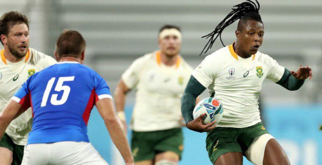 WATCH: All nine Springbok tries against Namibia