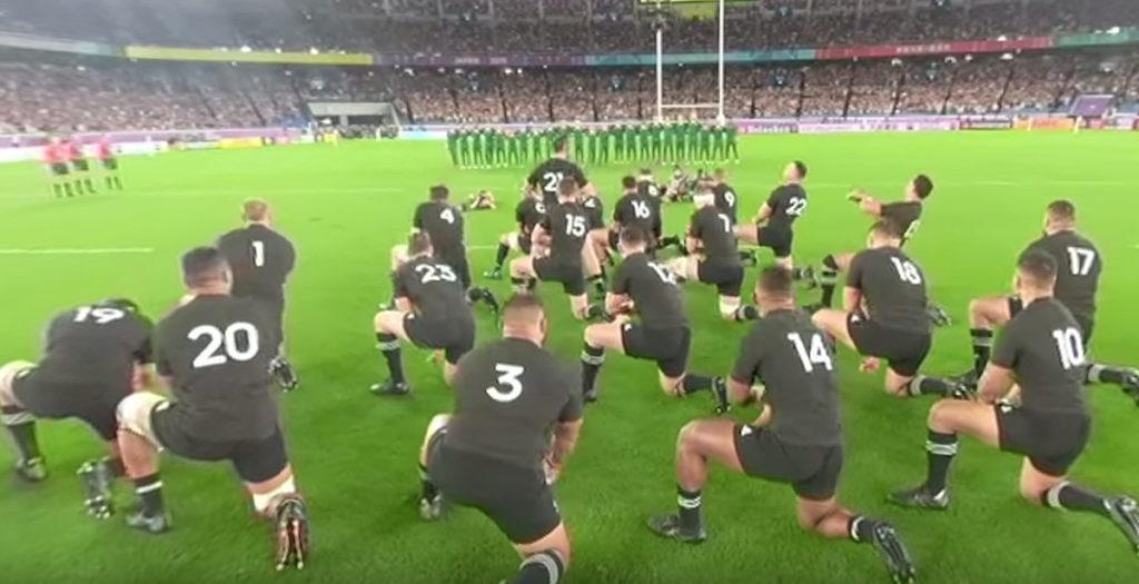 WATCH: 360 degree footage of All Blacks Haka