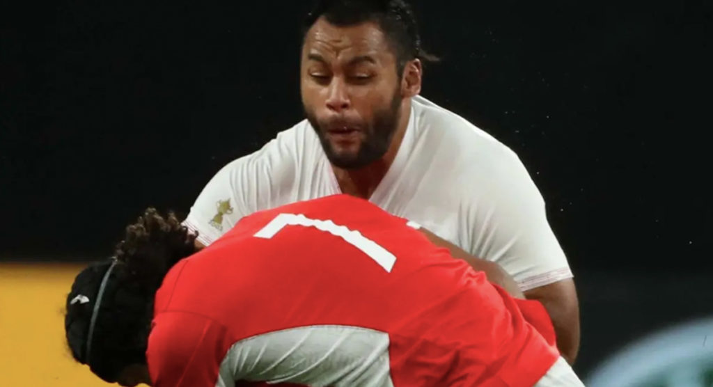 WATCH: Tongan flanker delivers bone-jarring hit on Billy Vunipola