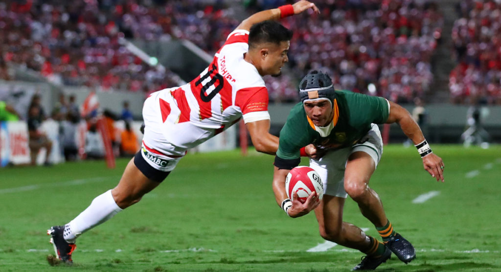 Springboks 'pushed hard right to the end' by Japan in final warm up clash