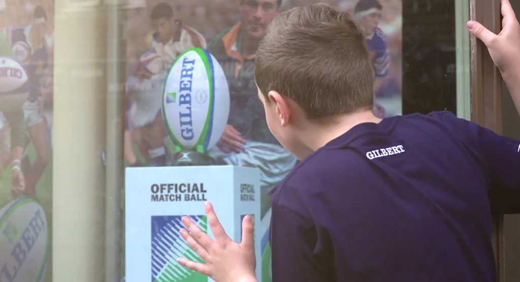Touching new video depicts a young player's journey to get his hands on a Gilbert