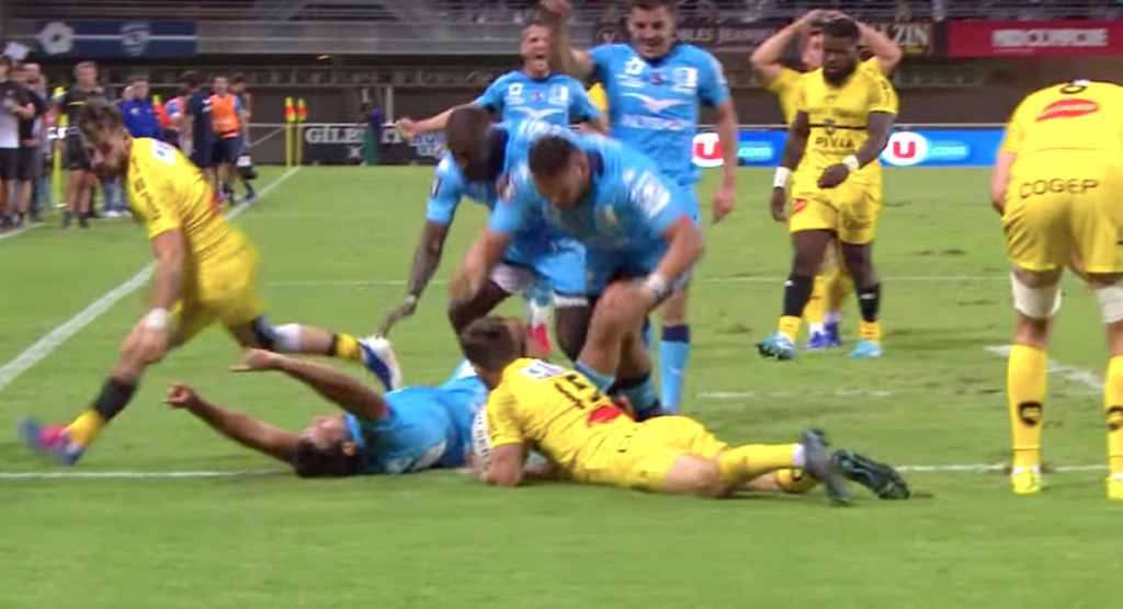 Montpellier go 85 metres for one of the best counter attack tries you'll see this season