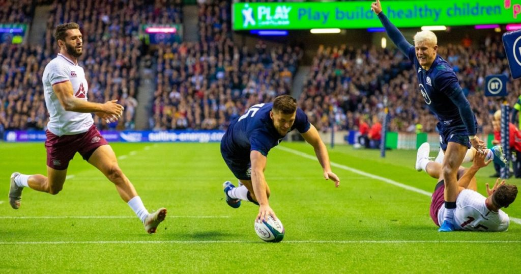 Scotland get the better of Georgia at Murrayfield