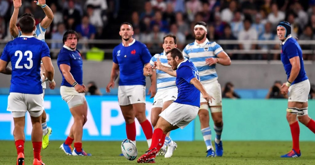 Lopez drop goal the key as France beat Argentina in RWC thriller